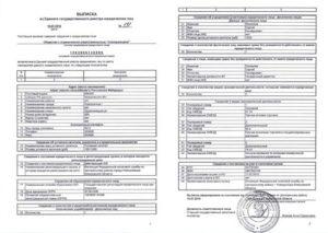 Заявление для получения выписки из ЕГРЮЛ и срок ее действия