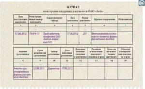 Журнал регистрации входящих документов: для чего он нужен и как заполняется