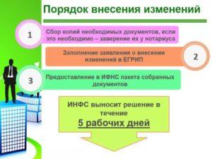 Внесение изменений в ЕГРИП: порядок действий