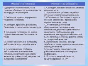 Стороны трудового договора: их права, обязанности и ответственность