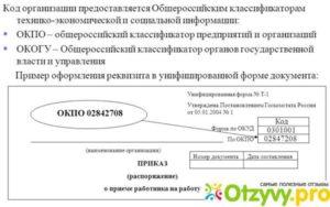 Код ОКПО для ИП
