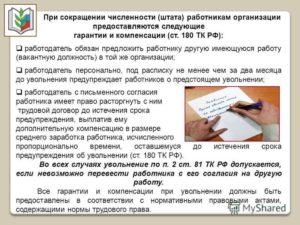 Обязанности работодателя при сокращении работника: что обязаны предоставить сотруднику при увольнении?