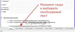 Форма 24001: образец заполнения при добавлении ОКВЭД