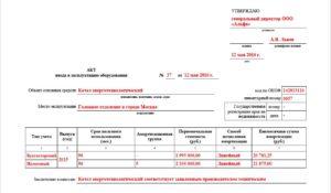 Акт ввода в эксплуатацию: унифицированные формы, правила заполнения, важные моменты